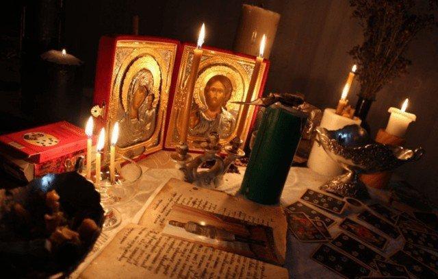 Церковный ритуал приворота