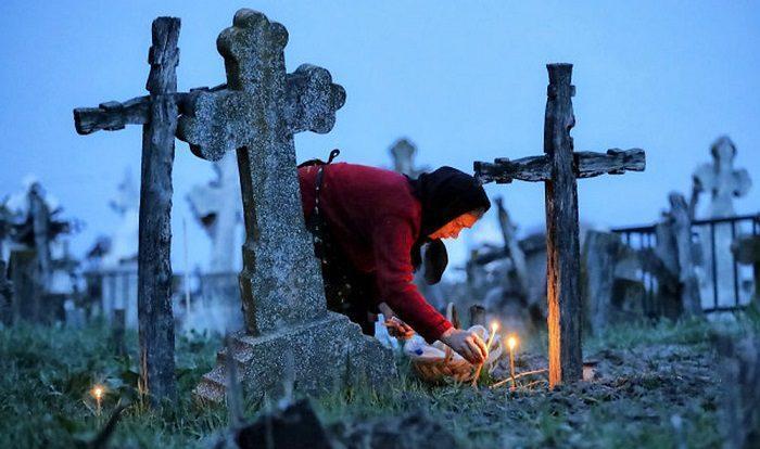 Заброшеная могила