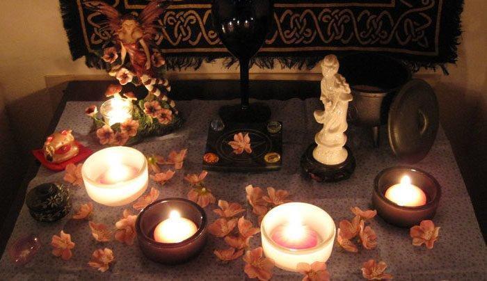 Проведение ритуала на тоску