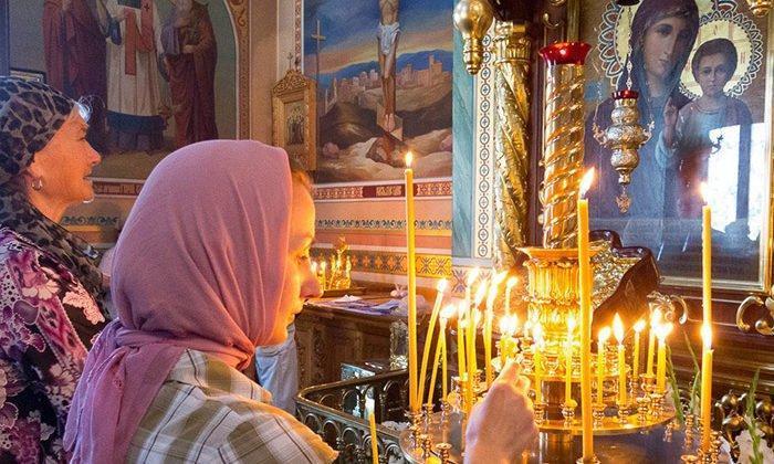 Молитва перед образами