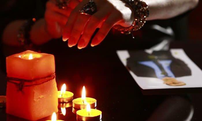 Заговор на свечи по фото