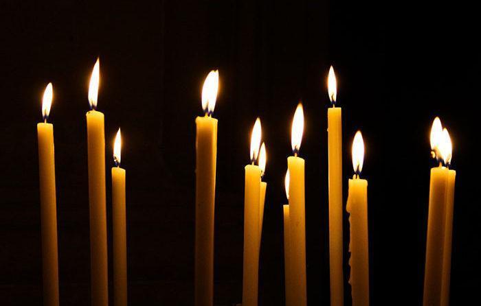 Церковные свечи для снятия отворота