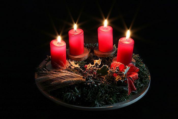 Красные свечи для заговора