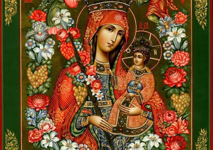 МолитваПресвятой Богородице - Неувядаемый цвет