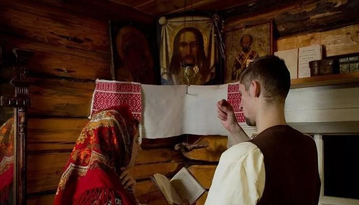 Молитва в доме