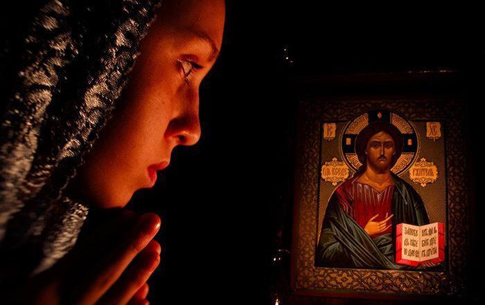 Молитва о похудении перед иконой