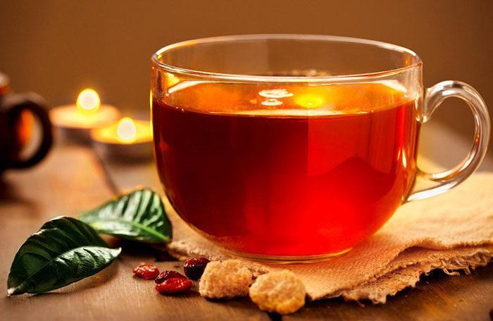 Снятие отворота с помощью чая