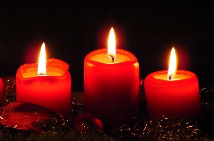 Красные свечи для приворота