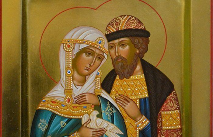 Икона Петра и Февронии поможет обрести любовь девушки
