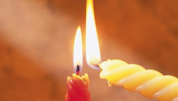 Ритуал с двумя свечами