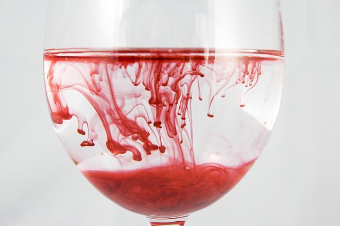 Напиток с кровью