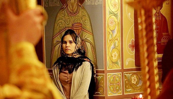 Моление в церкви