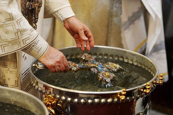 На святую воду